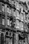 Fachadas de viviendas en Urzáiz