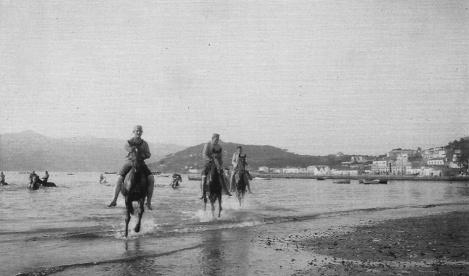 La antigua playa del Arenal en 1920