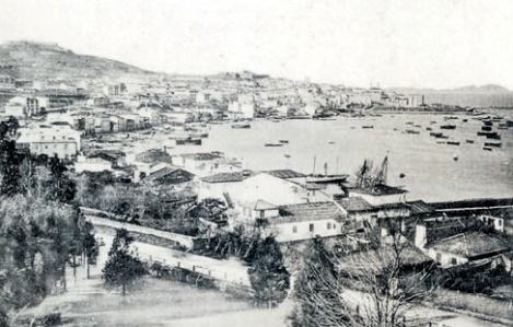 El Arenal visto desde la futura calle de García Barbón