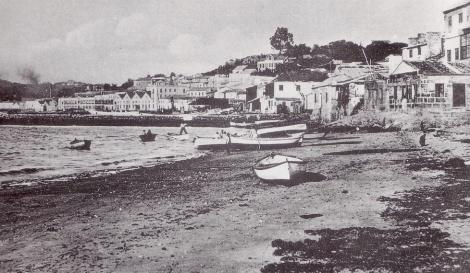 El Arenal con algunas fábricas de finales del XIX