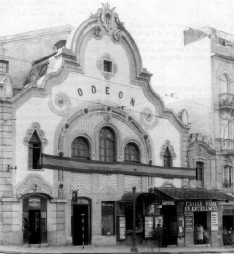 Cine Odeon años 40