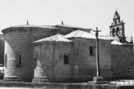 Iglesia románica de Corujo. Fotografía: Eduardo Galovart