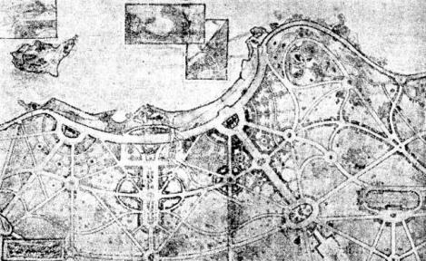 Proyecto de Anotonio Palacios para Samil en 1923
