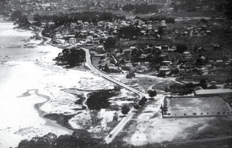 Playa del Bao y Corujo 1950