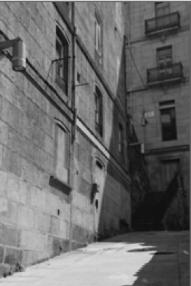 Rúa Alta en el Casco Viejo. Fotografía: Eduardo Galovart