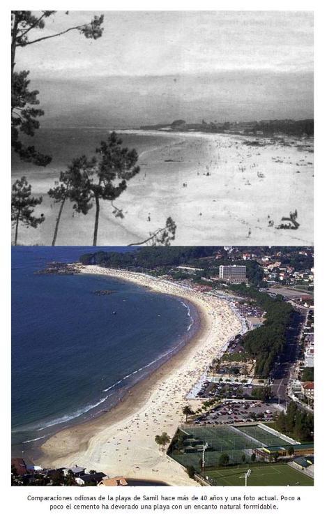 Samil antes y ahora