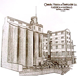 Antiguo cartel de la Compañía Panificadora
