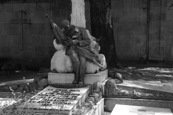 Monumento funerario en Pereiró en memoria de los soldados de la Guerra de Cuba muertos en Vigo. Fotografía Eduardo Galovart