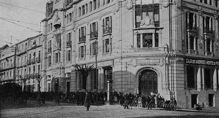Cronolog a de vigo siglos xx xxi vigopedia for Oficinas banco pastor vigo