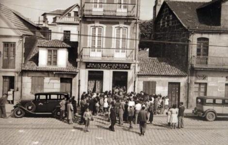 Una antigua de la Caja de Ahorros Municipal de Vigo