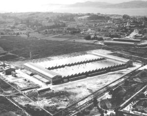 Nuevas naves de Citroen en el año 1958