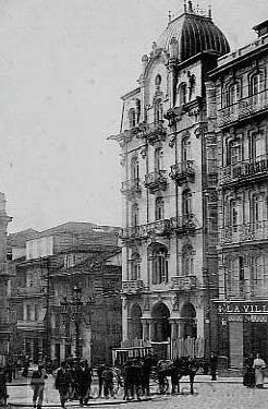 Edificio Simeón a principios del siglo XX