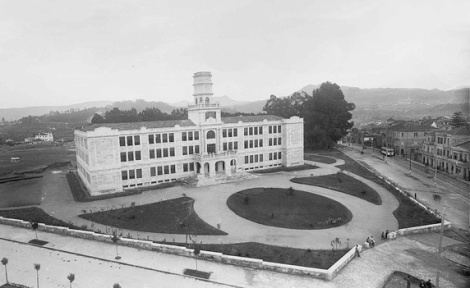 El instituto Santa Irene recién construido
