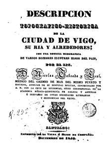 El libro de 1840 de Nicolás Taboada Leal