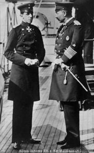 Encuentro de Alfonso XIII y el Kaiser Guillermo II en Vigo