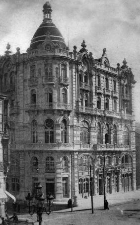 Hotel Moderno a principios del siglo XX