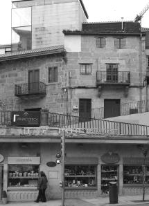 Pinacoteca gallego en el antiguo pazo de Arias Taboada