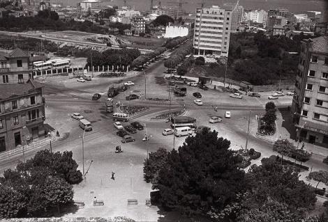 La Plaza de América en los años 70