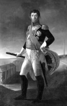 El mariscal francés Stoult, jefe de las fuerzas de ocupación