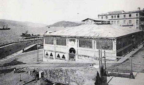 Mercado de la Laxe 1927