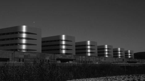 Nuevo hospital Álvaro Cunqueiro en Beade. Fotografía Eduardo Galovart