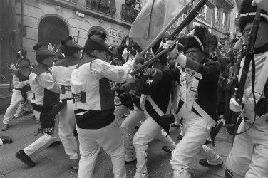 Tropas francesas en la Reconquista de Vigo