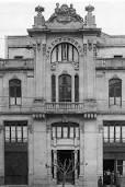 Sede de la Casa del Pueblo en García Barbón del arquitecto Manuel Gómez Román