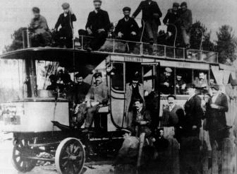 Autobús de la empresa La Regional