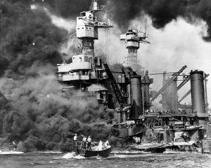 Ataque japonés en Pearl Harbour