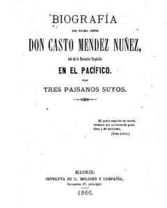 Biografía de Casto Méndez Núñez