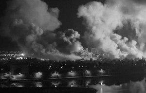 Bombardeos sobre Kuwait