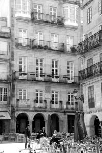Casa natal de Casto Méndez Núñez en la Plaza de la Constitución. Fotografía Eduardo Galovart