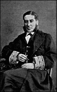 Fotografía de época del almirante Méndez Núñez