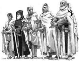 Caballeros templarios en las Cruzadas