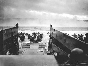 Desembarco de Normandía en la playa de Omaha