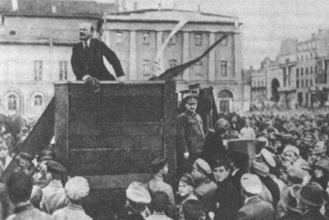 Discurso de Lenin en la Revolución de 1917