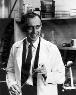 El científico estadounidense James Watson