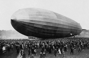 El dirigible Zeppelin