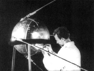 El Sputnik 1 soviético