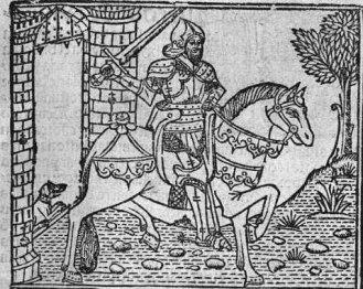 Grabado del Cid Campeador