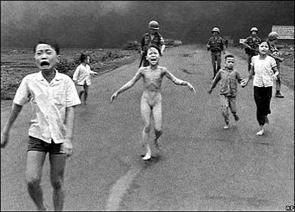 La foto más famosa de la Guerra de Vietnam