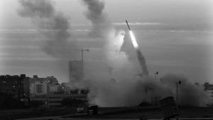 Lanzamiento de misiles en la Guerra del Golfo