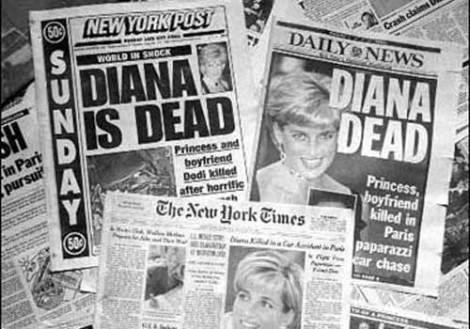 Muere la Princesa Diana de Gales