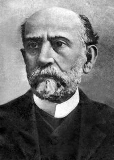 Nicolás Salmerón. Presidente del Poder Ejecutivo de la Primera República Española durante mes y medio en 1873.