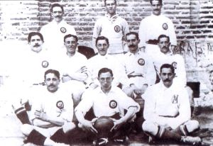 Plantilla del Real Madrid en 1905