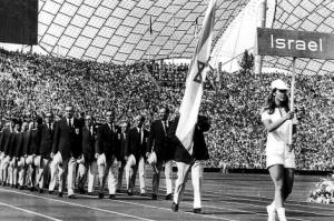 Selección olímpica de Israel en los Juegos Olímpicos de Munich