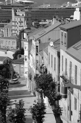 Segundo tramo de la calle Pobladores. Fotografía Eduardo Galovart