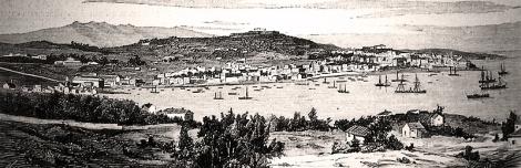 Vista del Arenal en el siglo XIX