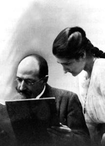 Avelino Rodríguez Elías con una de sus hijas.