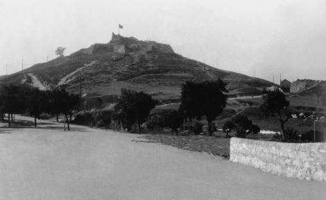 El Castro en 1905. Fotografía Pacheco